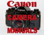 Thumbnail Canon T70 T-70 Camera SERVICE MANUAL Parts, User -3- MANUALS - #1 DOWNLOAD