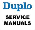 Thumbnail Duplo Equipment Service Repair Manual Parts Catalog User Guide Maintenance Manuals (ISO) - DOWNLOAD