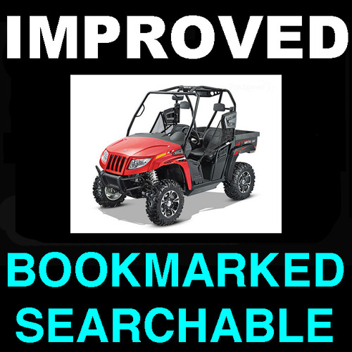 Product picture Arctic Cat Prowler XT XTX UTV 2009 Service Repair Manual - IMPROVED - DOWNLOAD