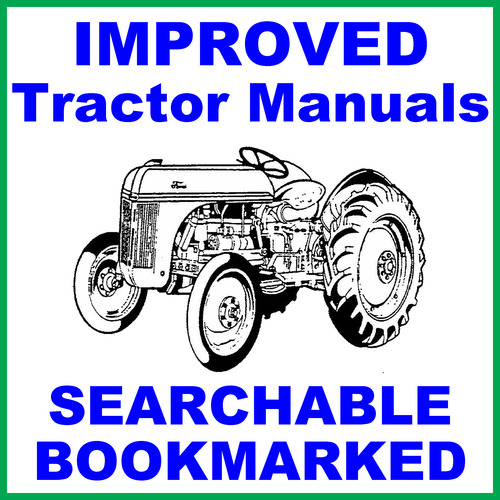 Product picture 9N 4-cylinder Tractor Illustrated Parts Catalog Manual -7- Manuals - IMPROVED - DOWNLOAD